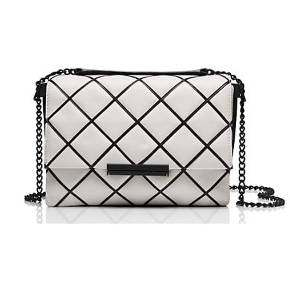 kate spade Handbags - Kate Spade Cross Hatch Graphic Leather Bag NWT!